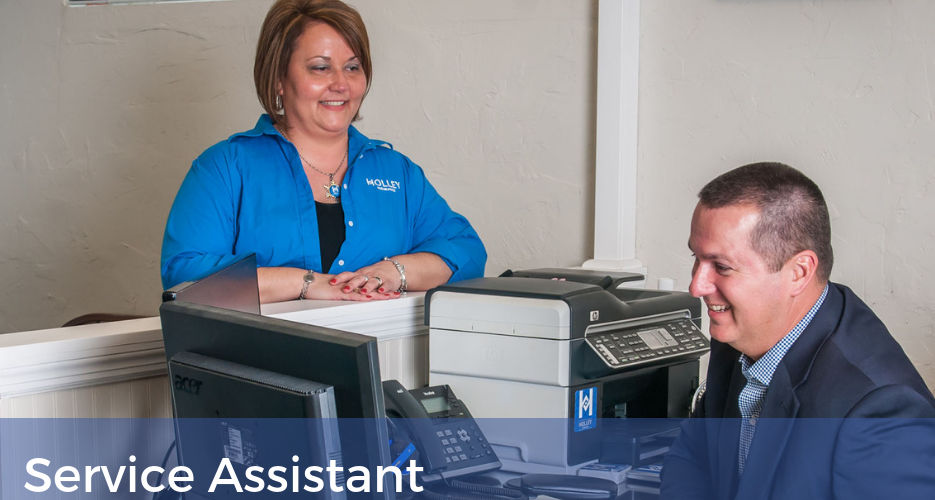 Service Assistant Position Available - Roanoke, VA - Holley