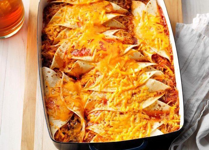easy-beef-enchiladas
