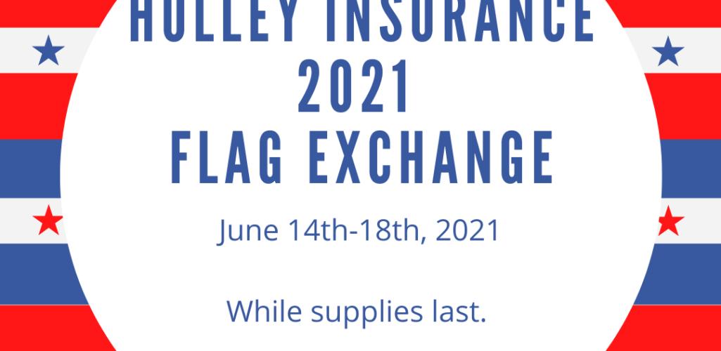 2021 flag exchange